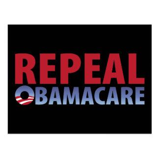 Derogación Obamacare Tarjetas Postales