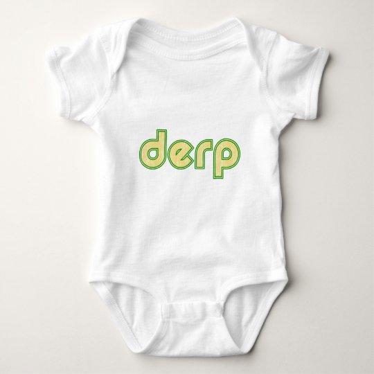 Derp 1 baby bodysuit