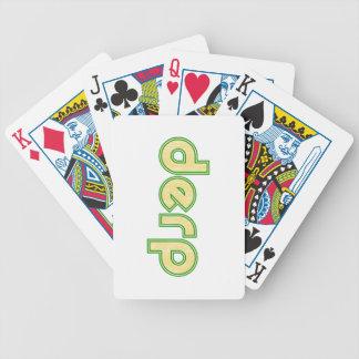 Derp 1 baraja de cartas