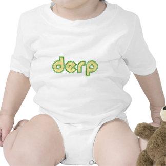 Derp 1 traje de bebé