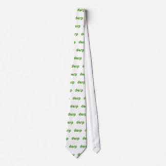Derp 2 neck tie