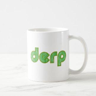 Derp 2 tazas de café
