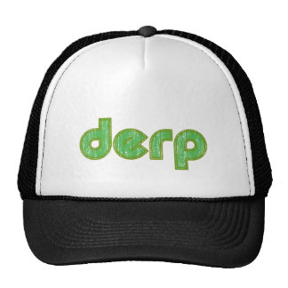Derp 2 trucker hat