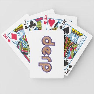 Derp 3 cartas de juego