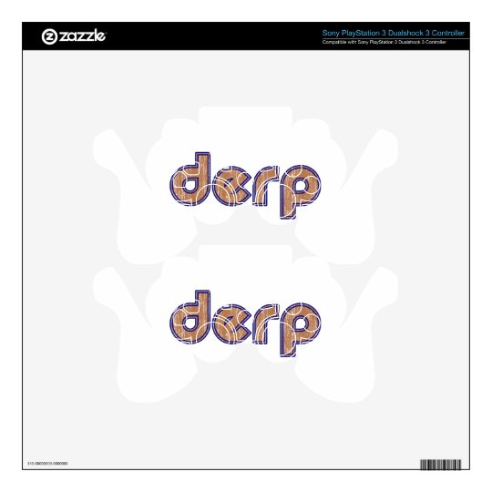 Derp 3 skin for PS3 controller