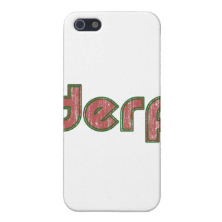 Derp 4 iPhone SE/5/5s case