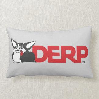 Derp Corgi Lumbar Pillow