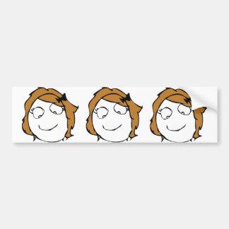 Derpina Bumper Stickers
