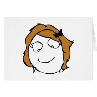 Derpina Greeting Card