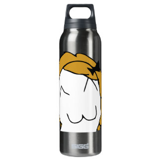 Derpina (Kitteh Smile) - Bottle 16 Oz Insulated SIGG Thermos Water Bottle