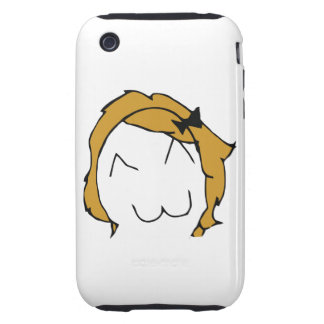 Derpina (Kitteh Smile) - iPhone 3G/3GS Case Tough iPhone 3 Case