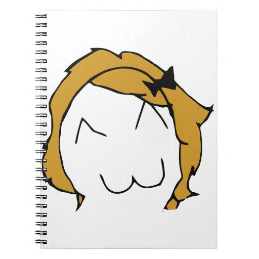 Derpina (Kitteh Smile) - Notebook