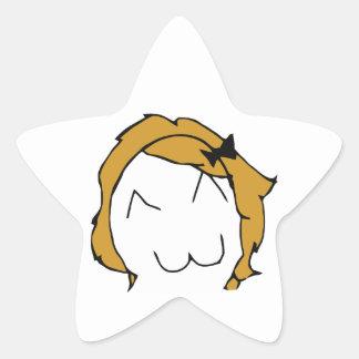 Derpina (Kitteh Smile) - Star Stickers
