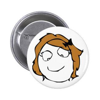 Derpina Pinback Button