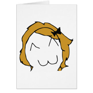 Derpina (sonrisa) de Kitteh - tarjeta de felicitac