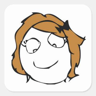 Derpina Square Sticker