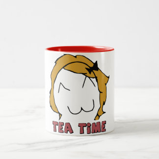 "Derpina ""TEA TIME"" MEME Mug"