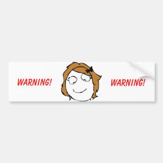 Derpina Troll Bumper Stickers