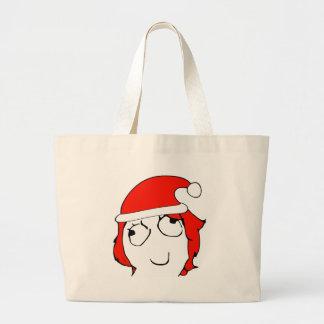 Derpina Xmas Meme Canvas Bag