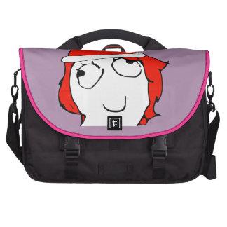 Derpina Xmas Meme Laptop Bag