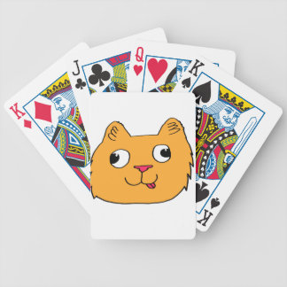 Derpy Cat Bicycle Playing Cards