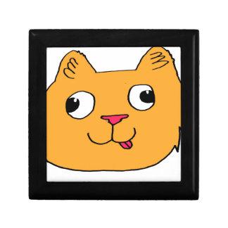 Derpy Cat Keepsake Box