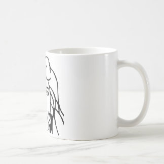 Derpy Chick Vintage 70's Illustration Coffee Mug