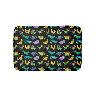 Derpy Dinosaurs pattern Bath Mat