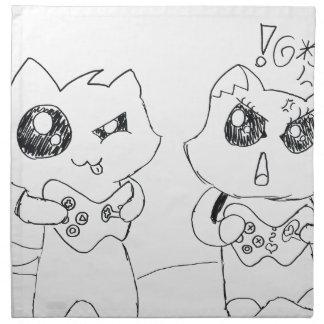 Derpy Katz Playing Napkin