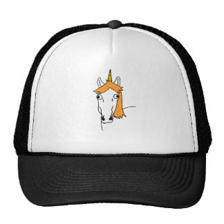 Derpy Unicorn Trucker Hat