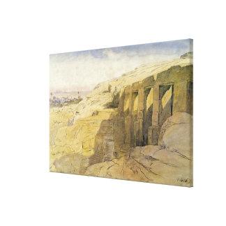 Derr, Egipto, 1867 (w/c en el papel) Impresion De Lienzo