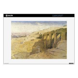"Derr, Egypt, 1867 (w/c on paper) 15"" Laptop Skin"