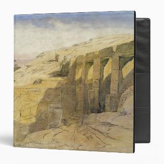 Derr, Egypt, 1867 (w/c on paper) 3 Ring Binder