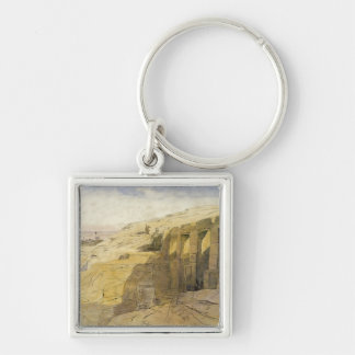 Derr, Egypt, 1867 (w/c on paper) Keychain