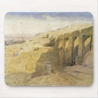 Derr, Egypt, 1867 (w/c on paper) Mouse Pad