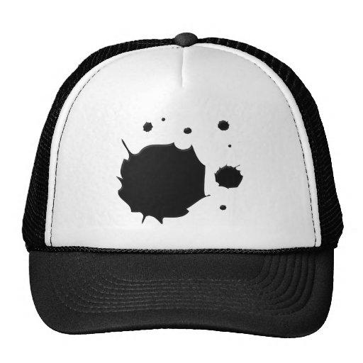 Derramamiento de la tinta gorra