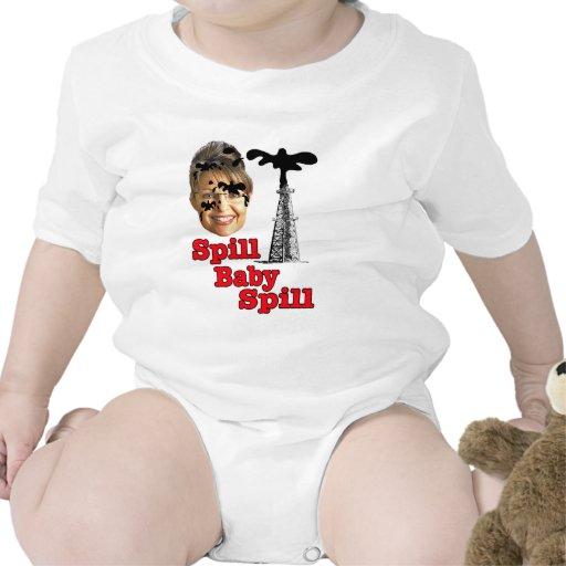 derramamiento del bebé del derramamiento… trajes de bebé