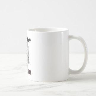 Derramamiento del bebé del derramamiento taza de café