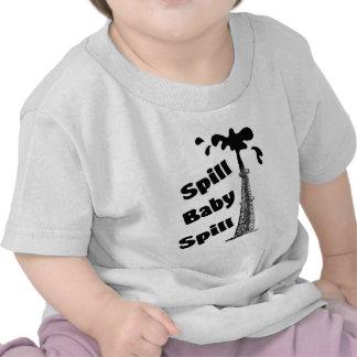 derramamiento camisetas