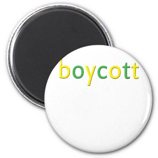 Derrame de petróleo de BP del boicoteo Imán Redondo 5 Cm
