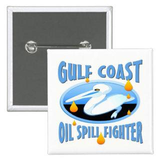 Derrame de petróleo de la costa del golf pin cuadrado