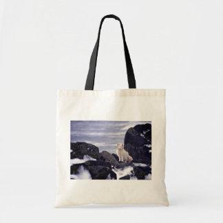 Derrame de petróleo de la isla de Pribilof, ártico Bolsas De Mano