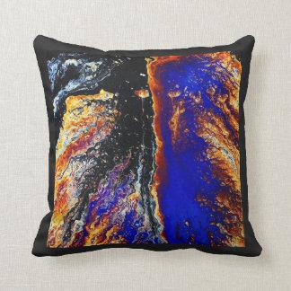 Derrame de petróleo en usted almohada cojín decorativo