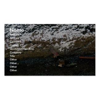 Derrame de petróleo Unalaska 2004 del m v Selendan Plantilla De Tarjeta De Visita