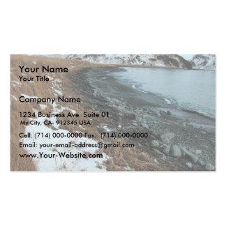 Derrame de petróleo Unalaska 2004 del m v Selendan Plantilla De Tarjeta Personal
