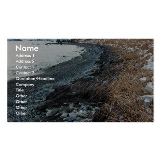 Derrame de petróleo Unalaska 2004 del m v Selendan Plantillas De Tarjetas Personales