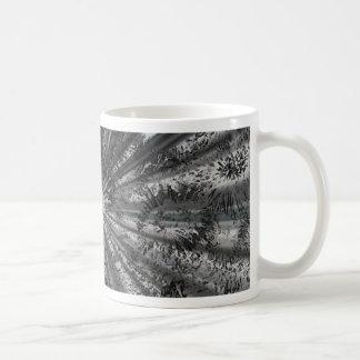 Derrame de plata tazas de café