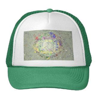 Derretimiento del color gorras de camionero