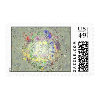 Derretimiento del color sello