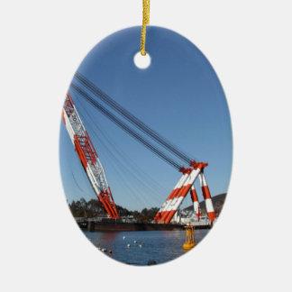 Derrick Ceramic Ornament